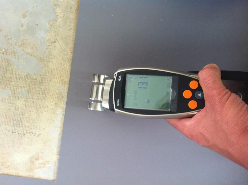 Feuchtigkeitsexpertisen Messgeraet 13,1%